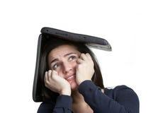 komputerowy stres Fotografia Stock