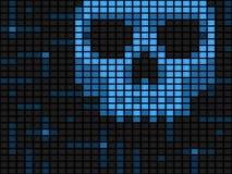 komputerowy tło wirus Zdjęcia Royalty Free