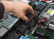 Komputerowy technik Zdjęcie Stock