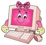 Komputerowy tematu wizerunek 3 Zdjęcie Royalty Free