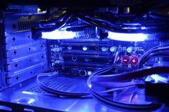 komputerowy wewnętrzny s obraz stock