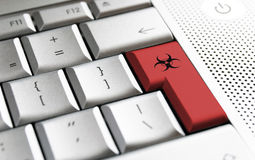 komputerowy wirus Obraz Royalty Free