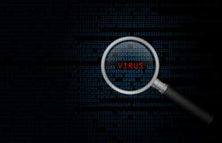 Komputerowy Wirus Zdjęcie Stock