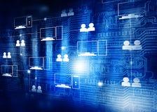 Komputertechnologie der Wolke Lizenzfreie Stockbilder