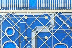 komputeru błękitny wzór Zdjęcie Royalty Free