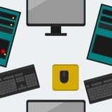 komputeru bezszwowy deseniowy Zdjęcie Stock