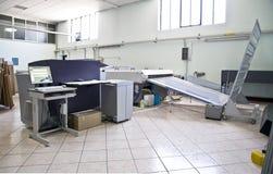 komputeru ctp półkowy druku proces Obrazy Royalty Free