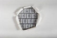 Komputeru dostęp obraz stock
