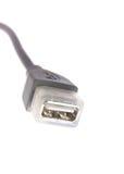 komputeru kablowy usb Obrazy Stock
