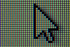 Komputeru, myszy pointer/ Zdjęcie Stock