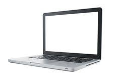 komputeru odosobniony laptop obrazy stock