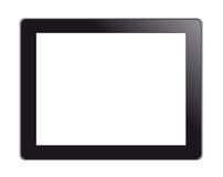 komputeru osobisty ekranu pastylki dotyk ilustracja wektor