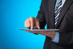 komputeru osobisty ekranu pastylki macanie Zdjęcie Royalty Free