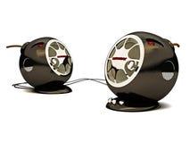 komputerów osobisty mówcy Zdjęcie Royalty Free