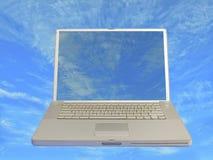 komputery 2 niebo Zdjęcie Stock