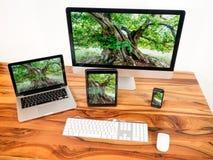 komputery połączony w sieci obrazy stock
