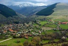 Komshtica-Dorf, Bulgarien Lizenzfreies Stockfoto