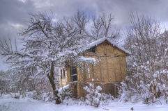 Komshtitsa village, Bulgaria - winter picture Stock Photography