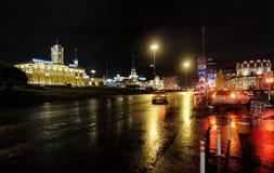 Komsomolskaya广场在莫斯科 库存图片