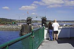 Komst binnen aan haven Royalty-vrije Stock Fotografie