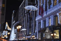 Komst in Boedapest Stock Foto