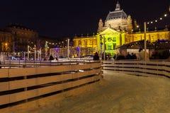 Komst in Zagreb Royalty-vrije Stock Foto