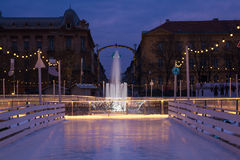 Komst in Zagreb Royalty-vrije Stock Fotografie