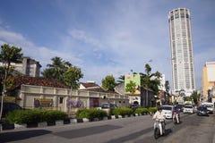 Komtar à Penang Image libre de droits