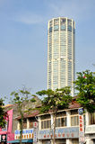 The KOMTAR Tower in the heart of Penang Royalty Free Stock Photography