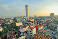 Komtar Tower Stock Images