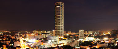 Komtar Tower Royalty Free Stock Photo