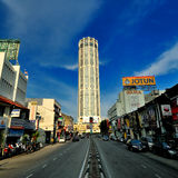 Komtar Tower Royalty Free Stock Photography