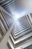 komunalne futurystyczny finansowego zdjęcie stock