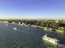 komunalne jeden Moscow panoramiczny widok zdjęcie royalty free