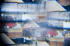 komunalne pejzaż abstrakcyjne Zdjęcia Royalty Free