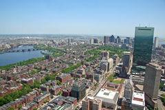 komunalne pejzaż bostonu obraz royalty free