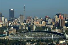komunalne pejzaż Johannesburga Zdjęcie Stock