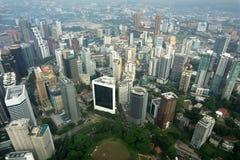 komunalne pejzaż Kuala Lumpur Obrazy Stock