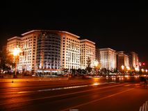 komunalne pejzaż noc obrazy royalty free