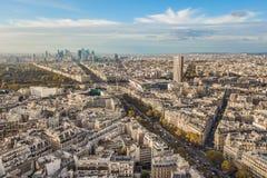 komunalne pejzaż Paryża Obraz Royalty Free