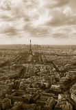 komunalne pejzaż Paryża Zdjęcie Royalty Free