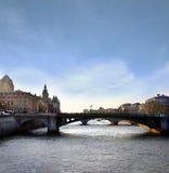 komunalne pejzaż Paryża Zdjęcie Stock