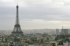 komunalne pejzaż Paryża fotografia royalty free
