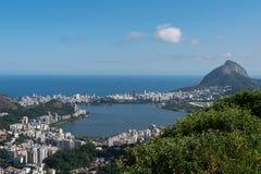 komunalne pejzaż Rio De Janeiro fotografia royalty free