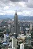komunalne pejzaż Kuala Lumpur Fotografia Stock