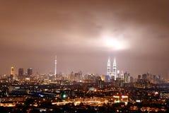 komunalne pejzaż Kuala Lumpur Obraz Stock