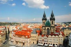 komunalne pejzaż Prague Obrazy Stock