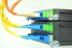 Komunikaci i internetów sieci serwer Obraz Stock
