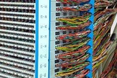 Komunikaci i internetów sieci serwer Fotografia Royalty Free