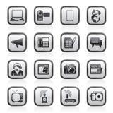 Komunikacj i Technologii ikony Zdjęcia Royalty Free